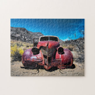 The Lobster Car a Vintage 1939 Chevy Jigsaw Puzzle