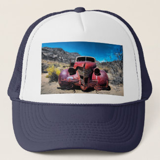 The Lobster Car a Vintage 1939 Chevy Trucker Hat