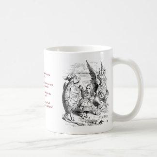 The Lobster Quadrille Mug, Alice in Wonderland Coffee Mug