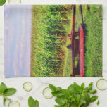"""The Local Hero Kitchen Towel<br><div class=""""desc"""">The unsung hero is your local farmer. Long hours, sunup to sundown, dependent on Nature&#39;s whims for his survival, in a thankless job that is passed down from generation to generation. Yet, proudly he continues on, as it is a way of life that very few are called to. Think of...</div>"""