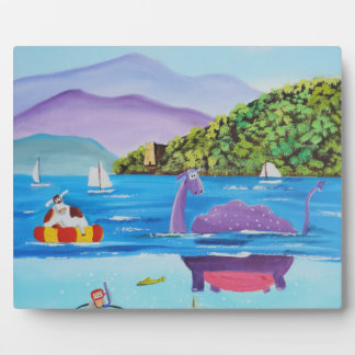 The Loch Ness monster by Gordon Bruce Plaque