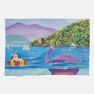 The Loch Ness monster by Gordon Bruce Towel