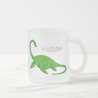 The Loch Ness Monster Frosted Glass Coffee Mug