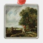 The Lock, 1824 Metal Ornament