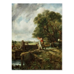 The Lock, 1824 Postcard