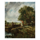 The Lock, 1824 Poster