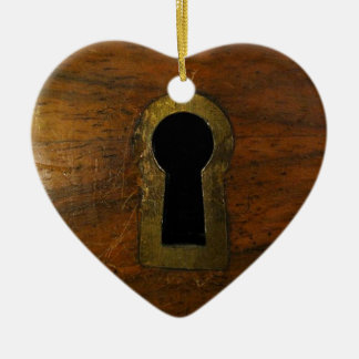 The Lock Ceramic Ornament