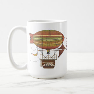 The Locke Hackney Flying Machine Coffee Mug