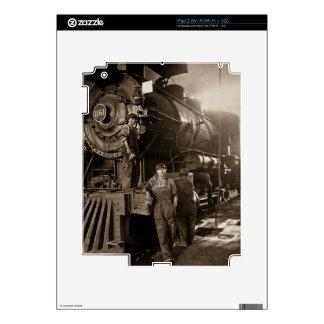 The Locomotive Ladies of World War I iPad 2 Skin