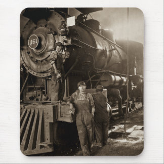 The Locomotive Ladies of World War I Mouse Pad