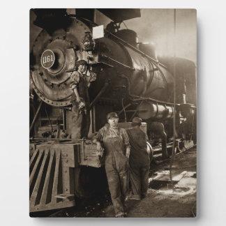 The Locomotive Ladies of World War I Photo Plaque