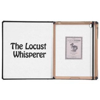 the locust whisperer cases for iPad