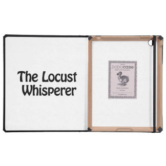 the locust whisperer cover for iPad