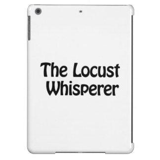 the locust whisperer iPad air cover