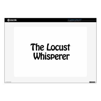 the locust whisperer laptop skin