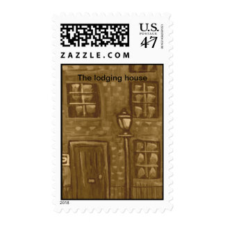 (The lodging house postage stamp)