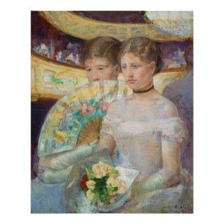 The Loge, 1882 (oil on canvas) Poster