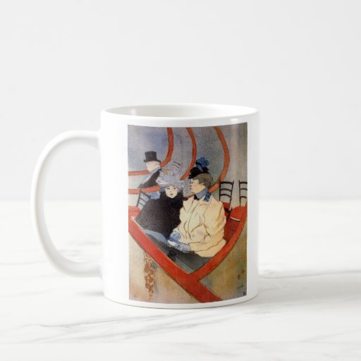 The loge 2 by Toulouse-Lautrec Mugs