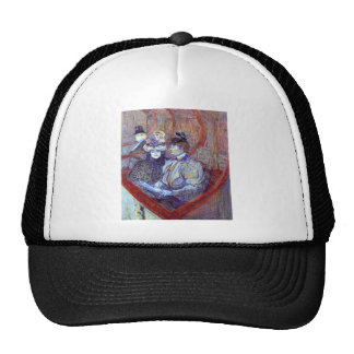 The loge by Toulouse-Lautrec Trucker Hat