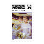 The Loge, Mary Cassatt Postage Stamps