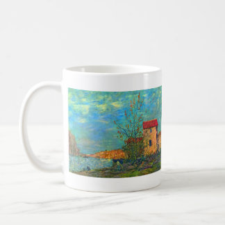 The Loing in Moret by Alfred Sisley Mugs