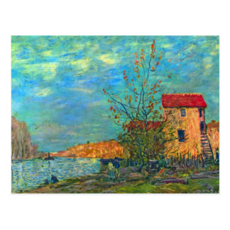 The Loing in Moret by Alfred Sisley Postcard