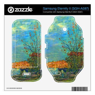 The Loing in Moret by Alfred Sisley Samsung Eternity II Skins