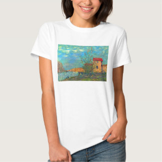 The Loing in Moret by Alfred Sisley T-shirts