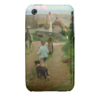 The Loiterers, 1888 (oil on canvas) Case-Mate iPhone 3 Case