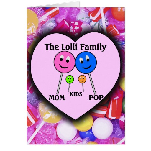 The Lolli Family Card