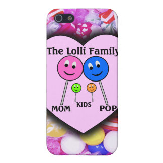 The Lolli Family iPhone SE/5/5s Cover