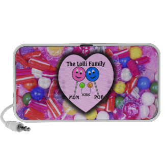 The Lolli Family Laptop Speaker