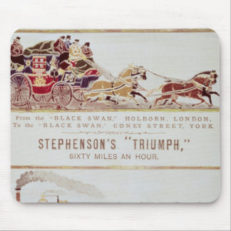 The 'London and York' Royal Mail Coach Mouse Pad