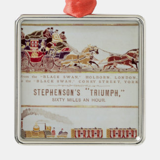 The 'London and York' Royal Mail Coach Christmas Ornaments