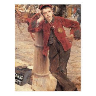 the london bootblack postcard