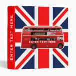 The London Bus 3 Ring Binder