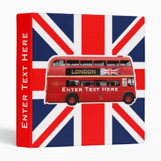 The London Bus Vinyl Binders