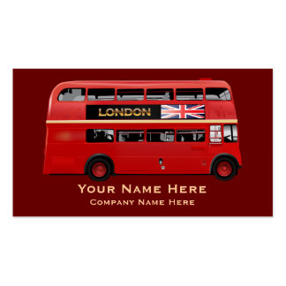 The London Bus Business Cards
