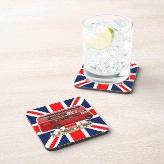 The London Bus Beverage Coaster