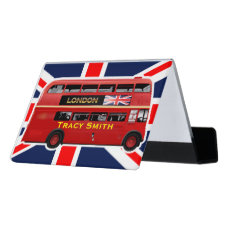The London Bus Desk Business Card Holder