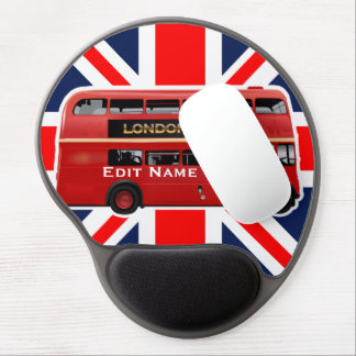 The London Bus Gel Mouse Pad