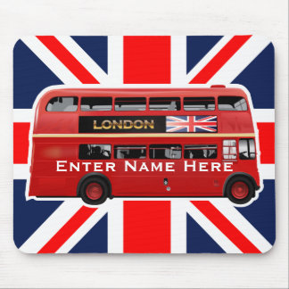 The London Bus Mouse Pad