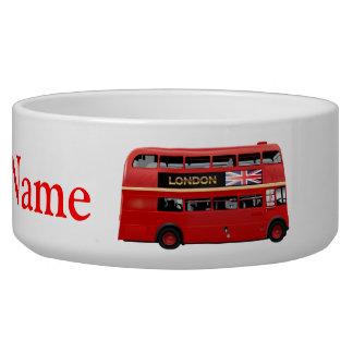 The London Bus Pet Bowl