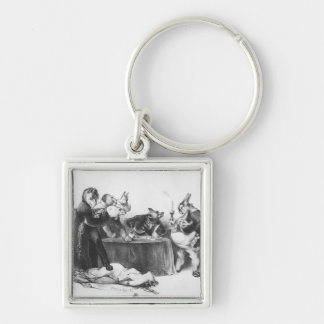 The London Conference, 1832 Keychain