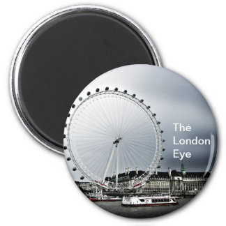 The London Eye 2 Inch Round Magnet