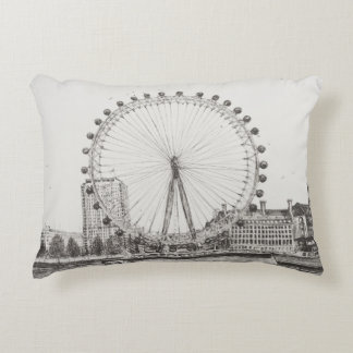 The London Eye 30/10/2006 Decorative Pillow