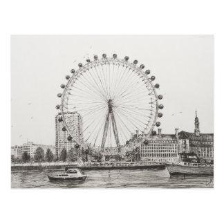 The London Eye 30/10/2006 Postcard