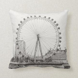 The London Eye 30/10/2006 Throw Pillow