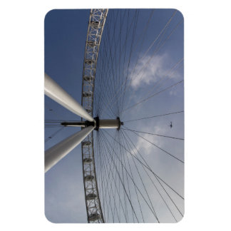 The London Eye And Apache Helicopter Magnet