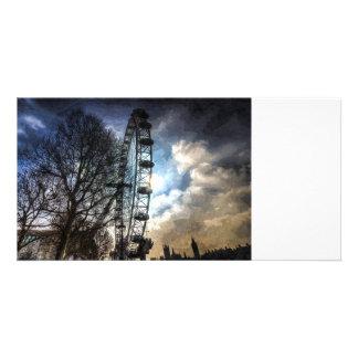 The London Eye Art Card